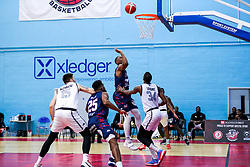 Raphell Thomas-Edwards of Bristol Flyers - Rogan/JMP - 15/01/2021 - BASKETBALL - SGS Wise Arena - Bristol, England - Bristol Flyers v London Lions - BBL Championship.