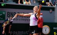 Katerina Siniakova of the Czech Republic during the second round at the Roland-Garros 2021, Grand Slam tennis tournament on June 2, 2021 at Roland-Garros stadium in Paris, France - Photo Rob Prange / Spain ProSportsImages / DPPI / ProSportsImages / DPPI