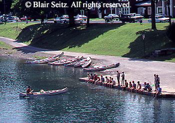 Outdoor recreation, Susquehanna River, Lock Haven, Canoe Instruction