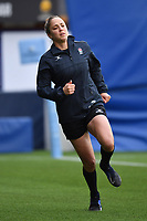 Rugby Union - 2019 / 2020 Gallagher Premiership - Worcester Warriors vs Bristol Bears<br /> <br /> Assistant Referee Sara Cox during the pre match warm up, at Sixways.<br /> <br /> COLORSPORT/ASHLEY WESTERN
