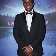 London, England, UK. 14th September 2017.Cast Franck Assi attend the Landing Lake Film Premiere at Empire Haymarket,London, UK.