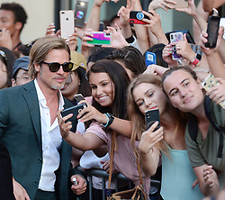Once Upon a Time In Hollywood - Los Angeles Premiere. 22 Jul 2019 Pictured: Brad Pitt. Photo credit: MEGA TheMegaAgency.com +1 888 505 6342
