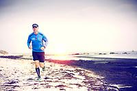 Martin Bengtsson, Swedish trail runnner in Åhus.