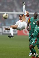 FOOTBALL - AFRICAN NATIONS CUP 2004 - 1/4 FINAL - 040207 - TUNISIA v SENEGAL - ANIS AYARI (TUN) - PHOTO JEAN MARIE HERVIO / FLASH PRESS<br />  *** Local Caption *** 40001038