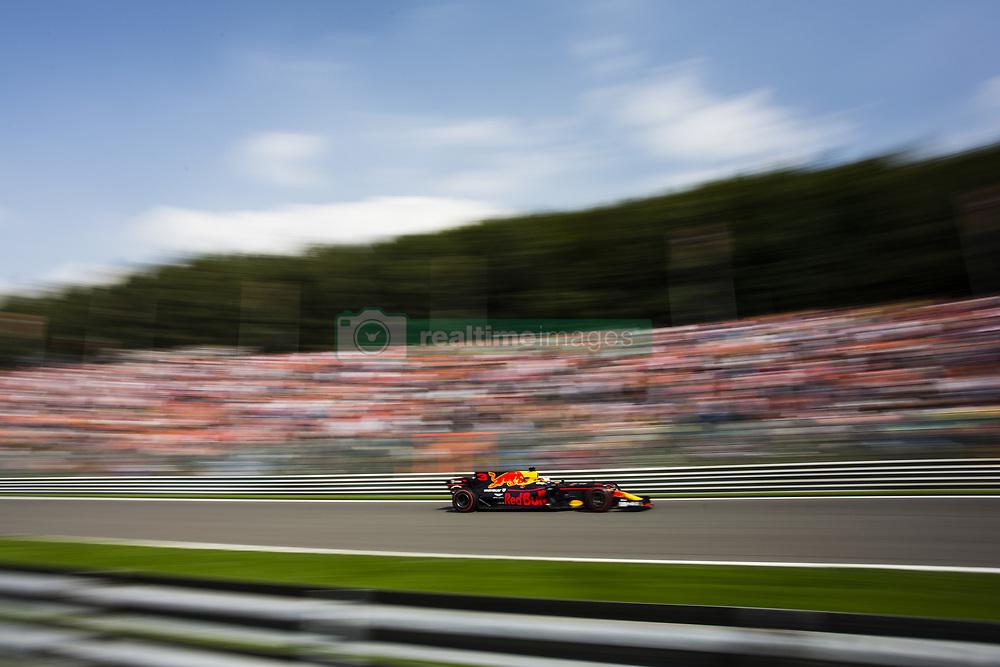 August 27, 2017 - Spa, Belgium - 03 RICCIARDO Daniel from Australia of Red Bull Tag Heuer during the Formula One Belgian Grand Prix at Circuit de Spa-Francorchamps on August 27, 2017 in Spa, Belgium. (Credit Image: © Xavier Bonilla/NurPhoto via ZUMA Press)