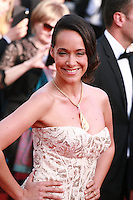 Karine Lima at Sils Maria gala screening red carpet at the 67th Cannes Film Festival France. Friday 23rd May 2014 in Cannes Film Festival, France.