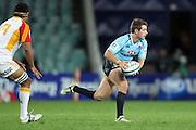 Bernard Foley. Waratahs v Chiefs. 2013 Investec Super Rugby Season. Allianz Stadium, Sydney. Friday 19 April 2013. Photo: Clay Cross / photosport.co.nz