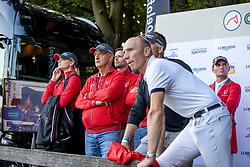 Team Switzerland, Fuchs Thomas, Schurtenberger Niklaus<br /> CHIO Rotterdam 2021<br /> © Dirk Caremans<br />  02/07/2021