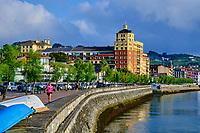 Espagne, Pays Basque, Guipuscoa, Fontarrabie // Spain, Basque Country, Guipuscoa, Hondarribia