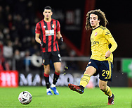 Matteo Guendouzi (29) of Arsenal passes the ball during the The FA Cup match between Bournemouth and Arsenal at the Vitality Stadium, Bournemouth, England on 27 January 2020.