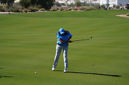 Playing with Brandon Stone (RSA) on the 1st during the Pro-Am of the Commercial Bank Qatar Masters 2020 at the Education City Golf Club, Doha, Qatar . 04/03/2020<br /> Picture: Golffile   Thos Caffrey<br /> <br /> <br /> All photo usage must carry mandatory copyright credit (© Golffile   Thos Caffrey)