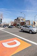 Downey Ave and Firestone Blvd Intersection