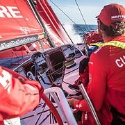 Leg 02, Lisbon to Cape Town, day 14, on board MAPFRE, starting go fast again. Photo by Ugo Fonolla/Volvo Ocean Race. 18 November, 2017