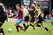 Scunthorpe United's Connor Townsend(3) surges forward during the EFL Sky Bet League 1 match between Scunthorpe United and Rotherham United at Glanford Park, Scunthorpe, England on 12 May 2018. Picture by Nigel Cole.