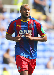 """Crystal Palace's Jairo Riedwald during the pre-season friendly match at the Madejski Stadium, Reading. PRESS ASSOCIATION Photo. Picture date: Saturday July 28, 2018. See PA story SOCCER Reading. Photo credit should read: Mark Kerton/PA Wire. RESTRICTIONS: EDITORIAL USE ONLY No use with unauthorised audio, video, data, fixture lists, club/league logos or """"live"""" services. Online in-match use limited to 75 images, no video emulation. No use in betting, games or single club/league/player publications."""