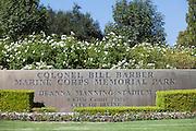 Colonel Bill Barber Marine Corps Memorial Park in Irvine