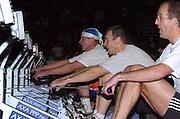 2004_British_Indoor_Rowing_Championships.NIA. Birmingham.England. 21.11.2004.Cat Men 40-45 Reijo Niemem.nmaa [Finnrowing].[Mandatory Credit Peter Spurrier/ Intersport Images]