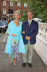 BARONESS JAY and her husband PROF.MICHAEL ADLER at Sir David & Lady Carina Frost's annual summer party held in Carlyle Square, Chelsea, London on 5th July 2006.<br /><br />NON EXCLUSIVE - WORLD RIGHTS