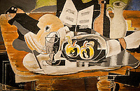 National Gallery, Washington DC. Painting by George Braque.
