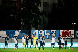 Players of  Gorica celebrate after the 2nd Leg football match between ND Gorica and FC Shirak in 1st Qualifying Round of UEFA Europa League 2017/18, on July 6, 2017 in Nova Gorica, Slovenia. Photo by Vid Ponikvar / Sportida