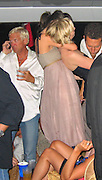 **EXCLUSIVE**.Kirsten Dunst celebrating the New Year in a Private Yacht.St. Barth, Caribbean.Friday, December 31, 2004.Photo By Celebrityvibe.com/Photovibe.com, New York, USA, Phone 212 410 5354, email:sales@celebrityvibe.com...