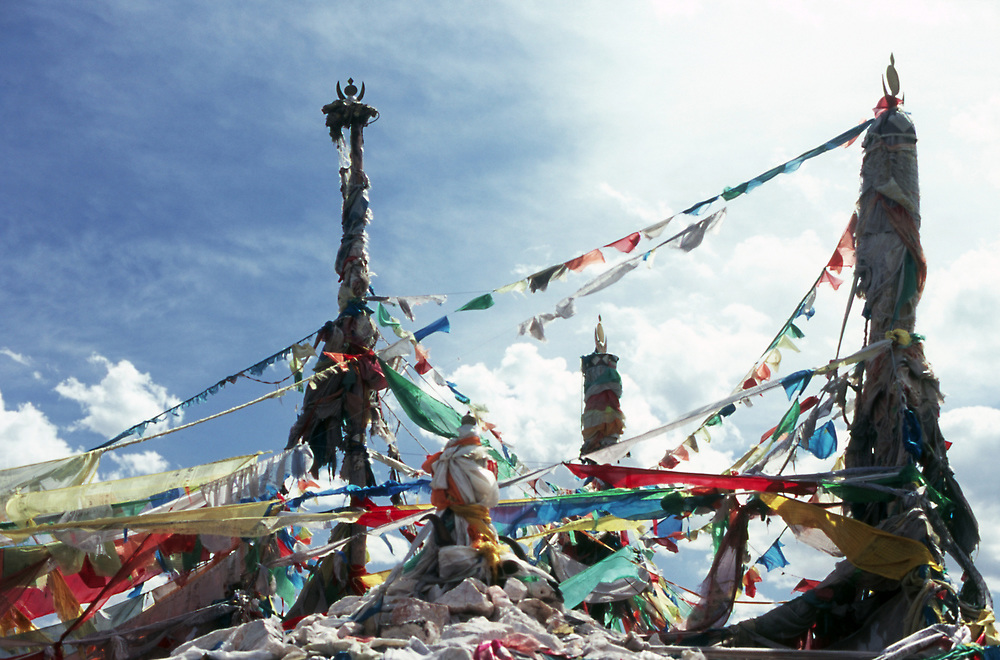 Photos from the Chinese provinces of Qinghai and Xinjiang. August 2006.