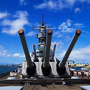 USS Missouri in Pearl Harbor, Hawaii