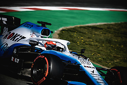 March 1, 2019 - Barcelona, Catalonia, Spain - ROBERT KUBICA (POL) from team Williams drives  in his FW42 during day eight of the Formula One winter testing at Circuit de Catalunya (Credit Image: © Matthias OesterleZUMA Wire)