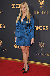 Reese Witherspoon at the 69th Annual Emmy Awards held at the Microsoft Theater on September 17, 2017 in Los Angeles, CA, USA (Photo by Sthanlee B. Mirador/Sipa USA)