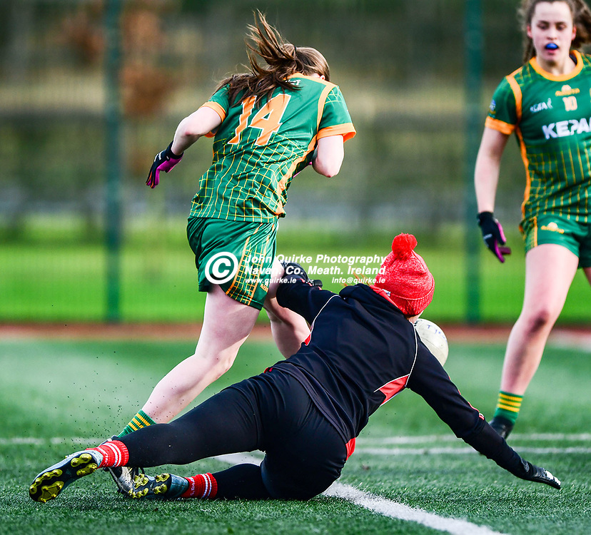 Bridgette Lynch scores a goal for Meath  in the Meath v Tyrone, Ladies NFL Div2 in Dunganny, Navan.<br /> <br /> Photo: GERRY SHANAHAN-WWW.QUIRKE.IE<br /> <br /> 26-01-2020
