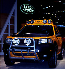 Land Rover Rights Managed Stock Images