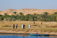 Egypte, Haute Egypte, croisiere sur le Nil entre Louxor et Assouan // Egypt, cruise on the Nile river between Luxor and Aswan