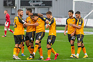 Newport County v Mansfield Town 031020