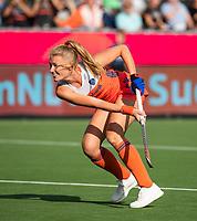 ANTWERPEN - Caia Van Maasakker (Ned)   tijdens  hockeywedstrijd  dames,Nederland-Spanje ,   bij het Europees kampioenschap hockey.   COPYRIGHT  KOEN SUYK