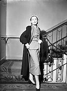 NAIDA Fashion Parade Ball at The Gresham Hotel,  Dublin, Ireland, 24/04/1953
