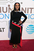 New York, NY-March 15: Designer/Media personality/Stylist June Ambrose attends the 2018 'Humanity of Connection' Awards Ceremony powered by AT&T and held at Jazz at Lincoln Center on March 15, 2018 in New York City. (Photo by Terrence Jennings/terrencejennings.com)