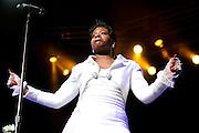American Idol Season 3 winner Fantasia Performing At The Fox Theater 2011