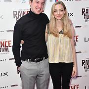 Eli Powers, Amanda Seyfried attends World Premiere of Holy Moses - Raindance Film Festival 2018, London, UK. 6 October 2018.