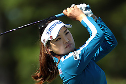 June 14, 2018 - Belmont, Michigan, United States - So Yeon Ryu of Korea tees off on the 10th tee during the first round of the Meijer LPGA Classic golf tournament at Blythefield Country Club in Belmont, MI, USA  Thursday, June 14, 2018. (Credit Image: © Jorge Lemus/NurPhoto via ZUMA Press)