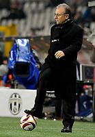 Alberto Zaccheroni, allenatore della Juventus <br /> Torino 25/02/2010 Stadio Olimpico<br /> Juventus Ajax - UEFA Europa League 2009-10.<br /> Foto Giorgio Perottino / Insidefoto