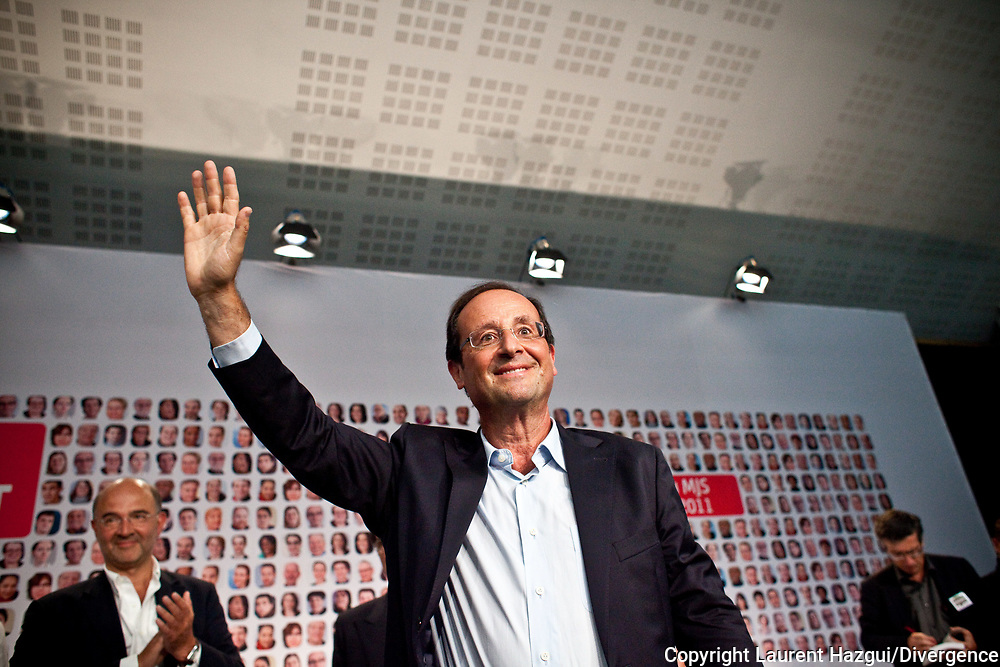 27082011. La Rochelle. Université d'été du PS. François Hollande. Plenière.