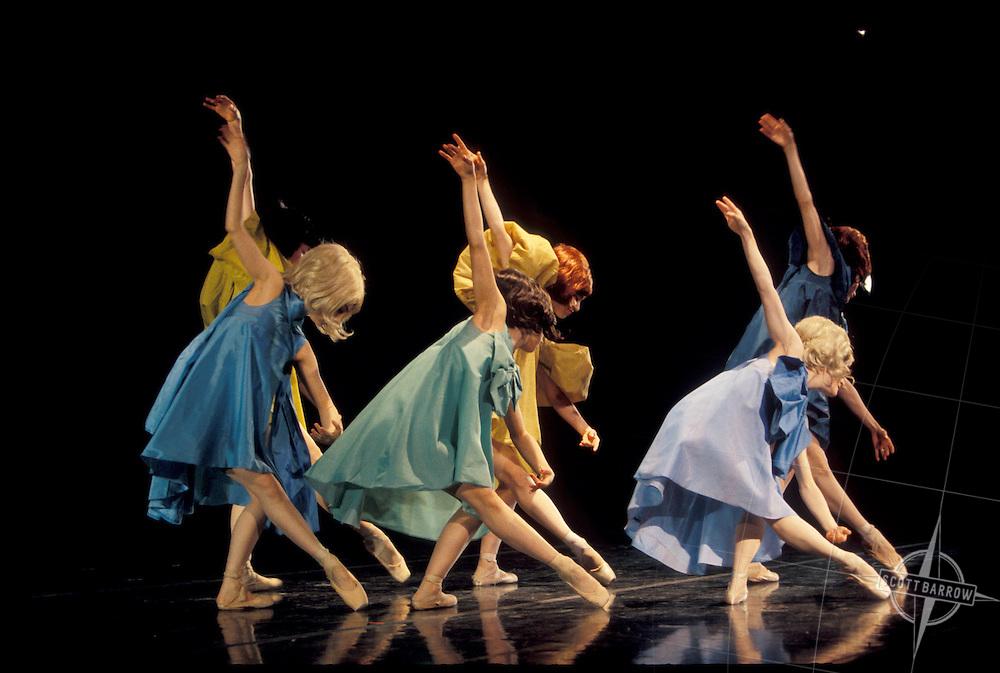 Dancers with the American Repertory Ballet in Newark, NJ.