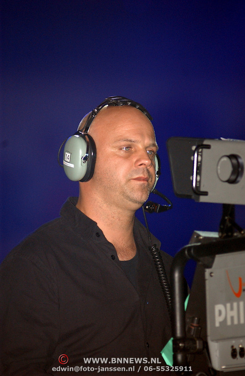 TMF awards 2004, cameraman Vincent de Ruiter