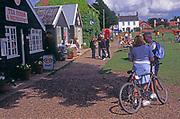 AJDN97 Gift shops and tea room restaurants Walberswick Suffolk England