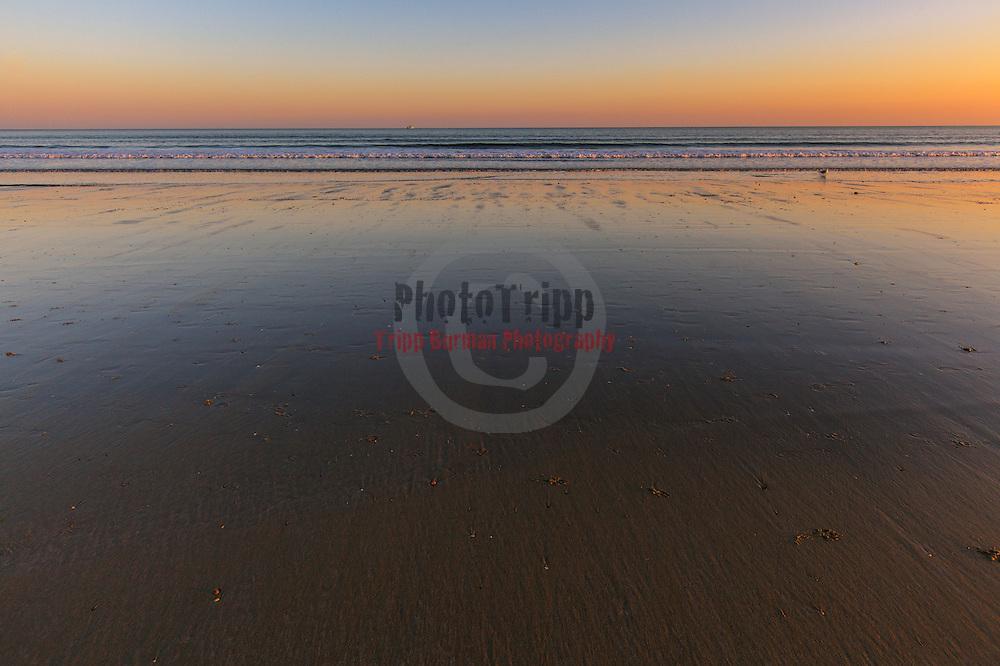 Today's Fall Sunrise  at Narragansett Town Beach, Narragansett, RI,  December  4, 2013. #waves #beach #rhodeisland #sunrise