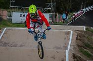 #252 (PALOMINOS Cristobal) CHI at the 2016 UCI BMX Supercross World Cup in Santiago del Estero, Argentina