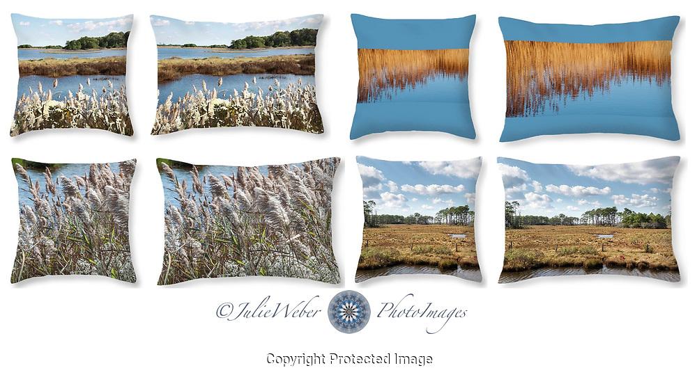 Wetlands -Shop here: https://2-julie-weber.pixels.com/shop/throw+pillows/wetlands