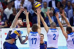 IVAN ZAYTSEV SPIKES<br /> ITALY VS SLOVENIA<br /> MEN'S VOLLEYBALL WORLD CHAMPIONSHIPS <br /> Florence September 18, 2018