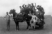 Birmingham City players 1925. Credit : Colorsport.