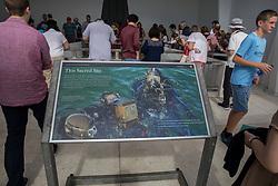 USS Arizona Memorial Interpretive Panel, Pearl Harbor